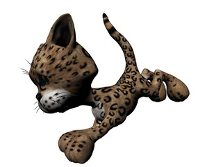 Plush Leopard