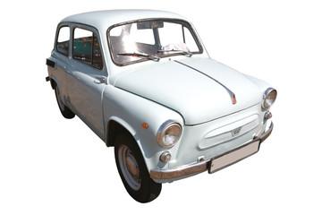Tuinposter Oude auto s Vintage Ukrainian Car 50-60's