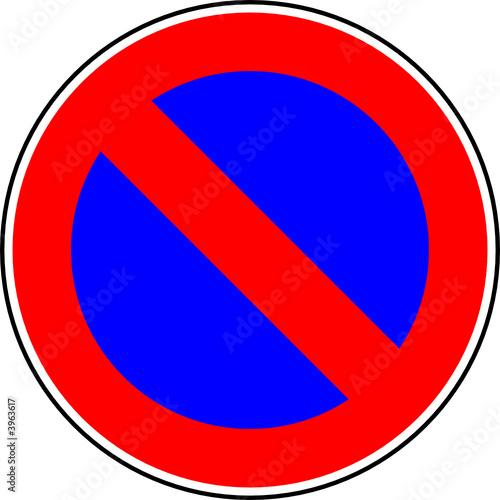 stationnement interdit fichier vectoriel libre de droits sur la banque d 39 images. Black Bedroom Furniture Sets. Home Design Ideas
