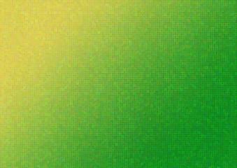 Green and yellow mosaic backround