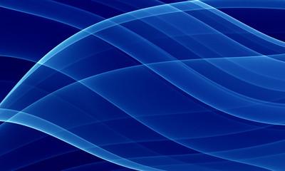 deep blue curves