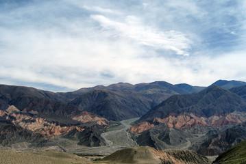 Tilcara mountain landscape