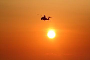 Helicopter Sunrise