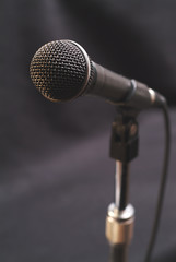 Performer's and entertainer's microphone