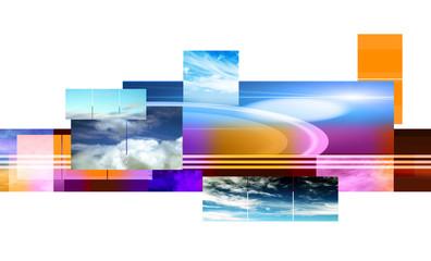 Corporate design background
