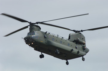 Poster Helicopter CH-47 Chinook