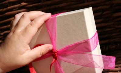 Hand on Gift