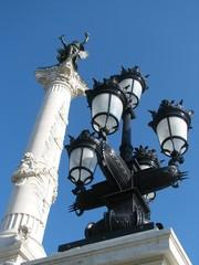 Fotobehang Fontaine Colonne des Girondins 4