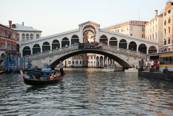 Obraz Pont du Rialto Venise - fototapety do salonu