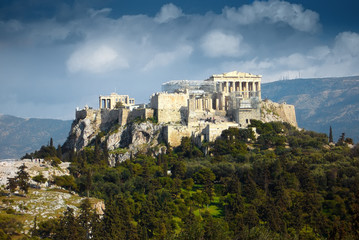 Poster Athens Akropolis