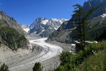 Glacier mer de glace