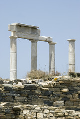 ancient ruins delos