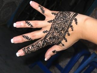 main au henné