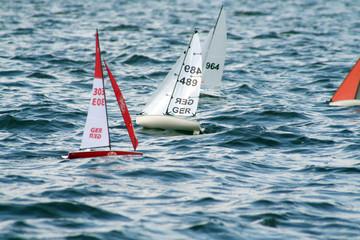 Segelboote, Modellsegelboote