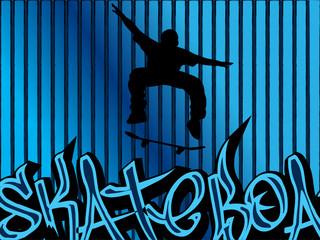 skateboard background