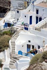 Buildings in Santorini
