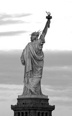 The Statue of Liberty -  from the Liberty State Park