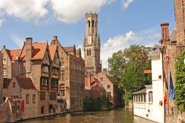 Photo sur Aluminium Bruges Schönes Brugge