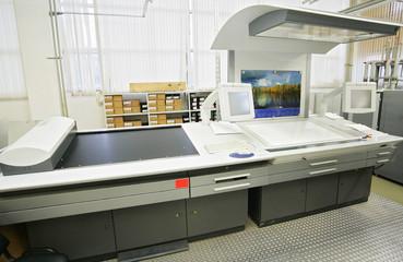 The publishing equipment