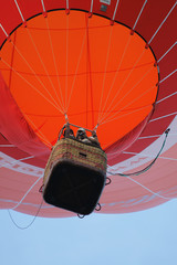 Acrylic Prints Sky sports a red balloon