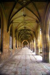 Corridor - St John' College - University of Camridge, UK