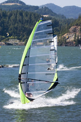 Windsurfer in action 1