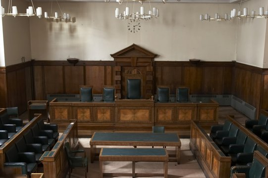 court room, council chambers