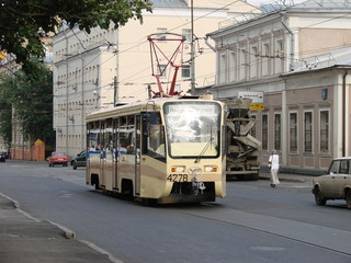 Moscow new tramway