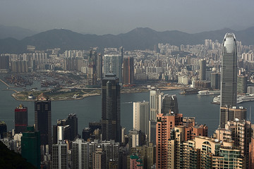 Hongkongs Skyline