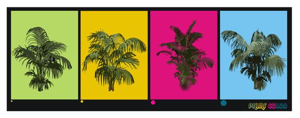 plantas en vector