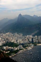 Blick auf den Corcovado, Rio de Janeiro, Brasilien