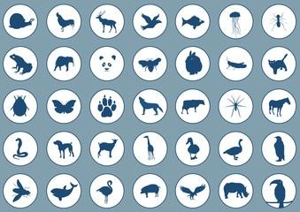 Icons animals 2