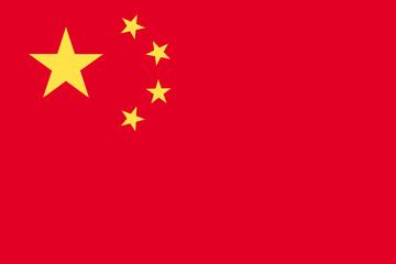 Drapeau République populaire de Chine