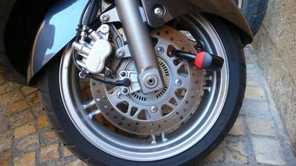 roue et antivol