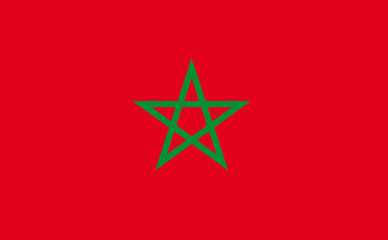 Drapeau Maroc