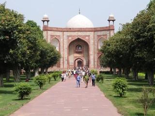 Canvas Prints Delhi Humayun's Tomb, New Delhi