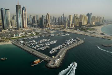 Buildings & Marinas In The Emirate Of Dubai