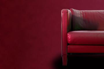 Gorgeous Red Sofa