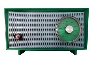 Green Retro Radio