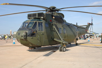 Army Green Helicopter