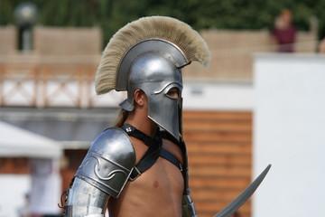 Foto op Canvas Ridders Roman gladiator
