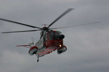 Air Sea Rescue Helecopter