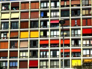 facade en couleur