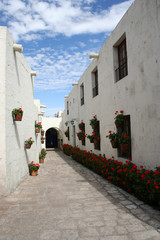 Ruelle du couvent Santa Catalina - Arequipa