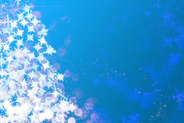 Sparkles, stars and snowflakes