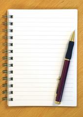notepad background
