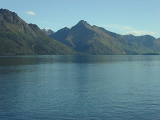 Queenstown, a view from a harbor