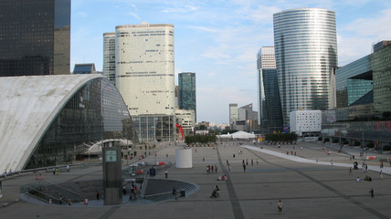 Paris, quartier d'affaire de la Défense