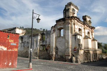 Church Ruins Antigua, Guatemala