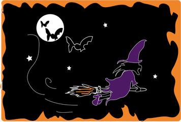 sorcière nuit